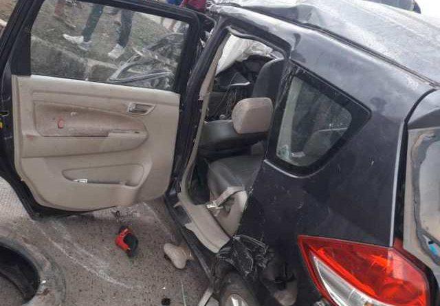 टीवी के बाल कलाकार की मौत : ट्रक से टक्कर के बाद कार के उड़े परखच्चे, मां-पिता की हालत गंभीर…
