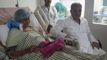 सीएम भूपेश की मां बिंदेश्वरी बघेल का निधन, रामकृष्ण अस्पताल में आज शाम ली अंतिम सांस…