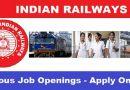 भारतीय रेलवे का पैरा मेडिकल स्टाफ के लिए सबसे बड़ा भर्ती अभियान