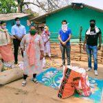 बांगापाल जुडूम कैम्प में सुलोचना ने दिलाई राहत, करीब 200 परिवारों को राशन वितरण किया…