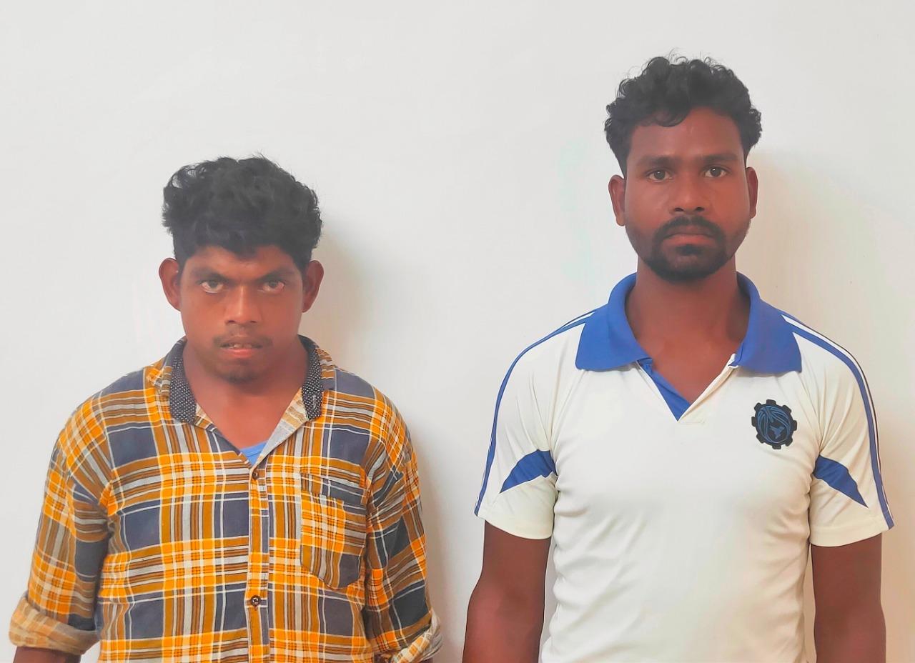 सुरक्षा बल के जवानो को सफलता…….दो स्थायी वारंटी नक्सली गिरफ्तार।